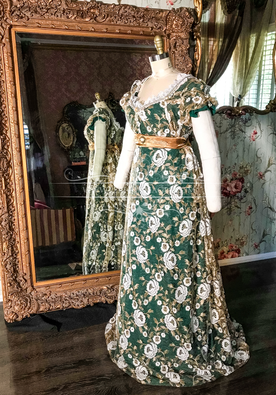 Image 2 of Lady Chantelle Regency Gown