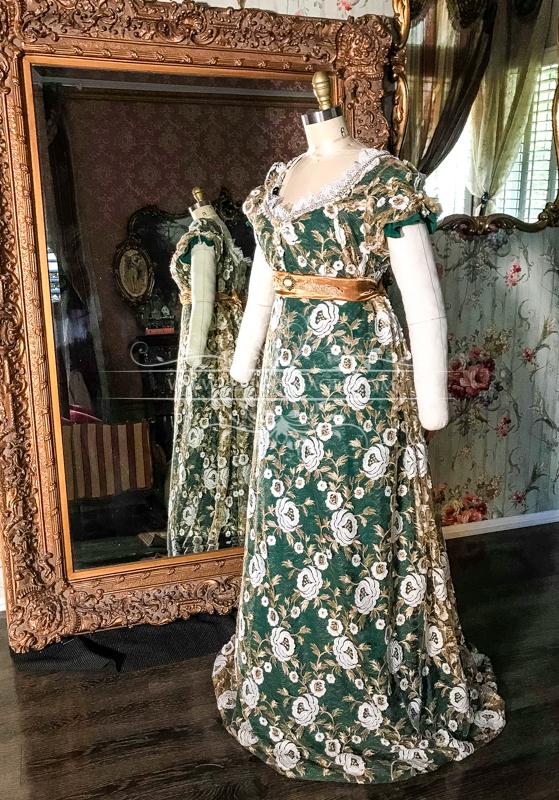 Image 2 of Lady Chantelle Regency Gown