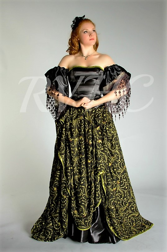 Image 0 of Victorian Vampire / Gothic Ball Gown