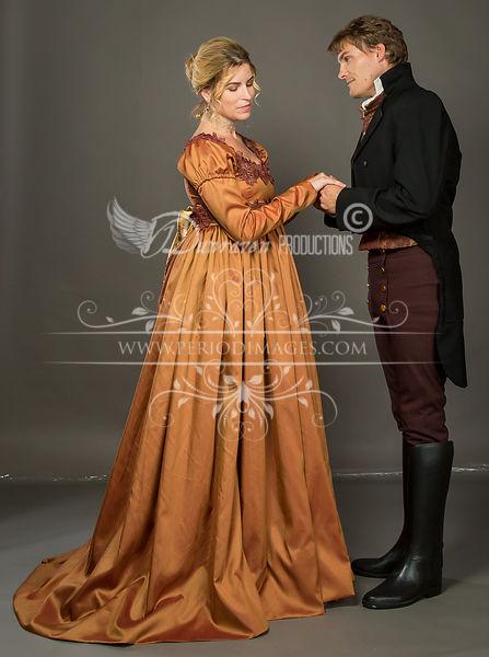 Image 1 of Lady Marianne Regency Dress