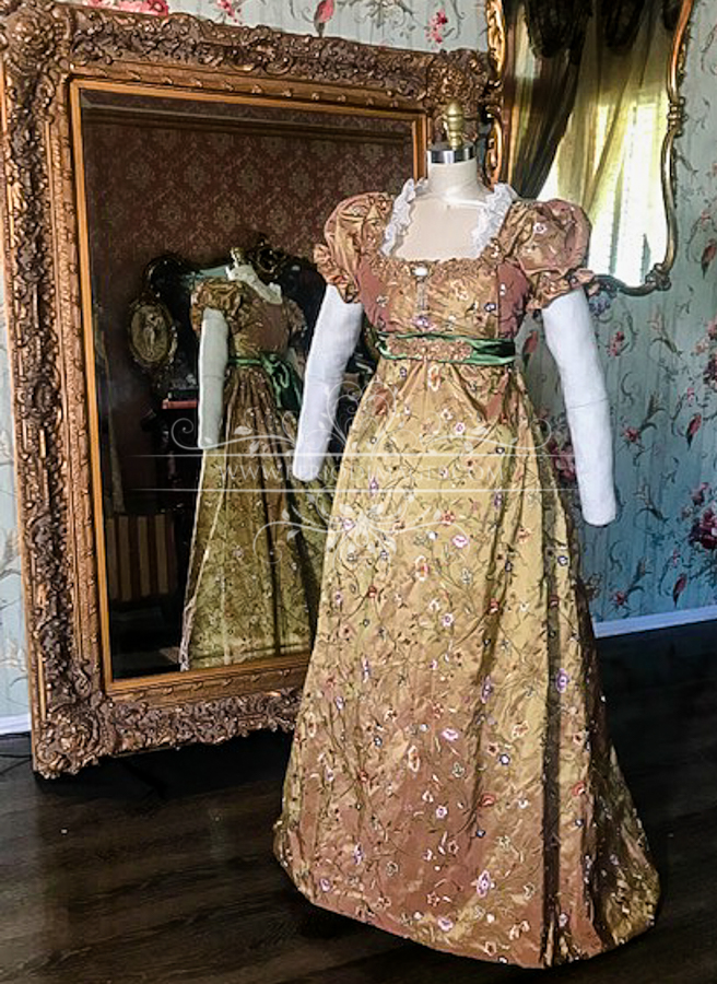 Image 0 of Lady Adrianna Regency Gown
