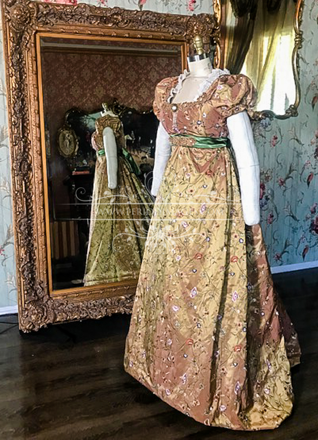 Image 1 of Lady Adrianna Regency Gown
