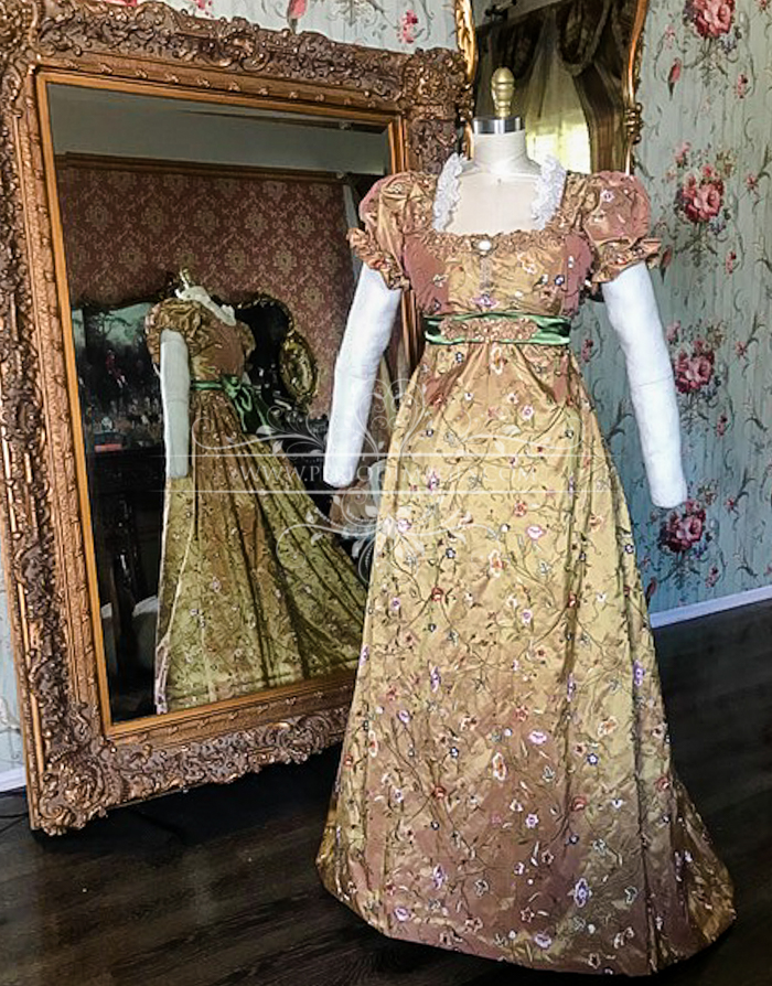 Image 2 of Lady Adrianna Regency Gown