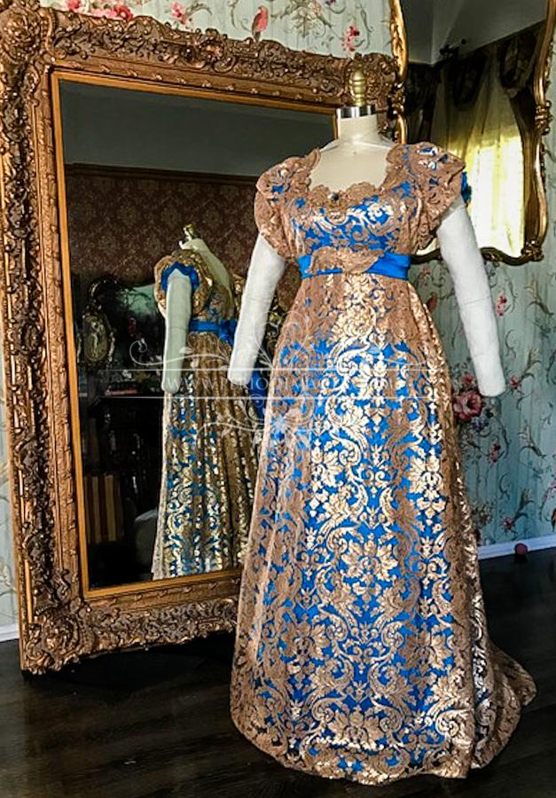 Image 0 of Lady Amaryllis Regency Gown