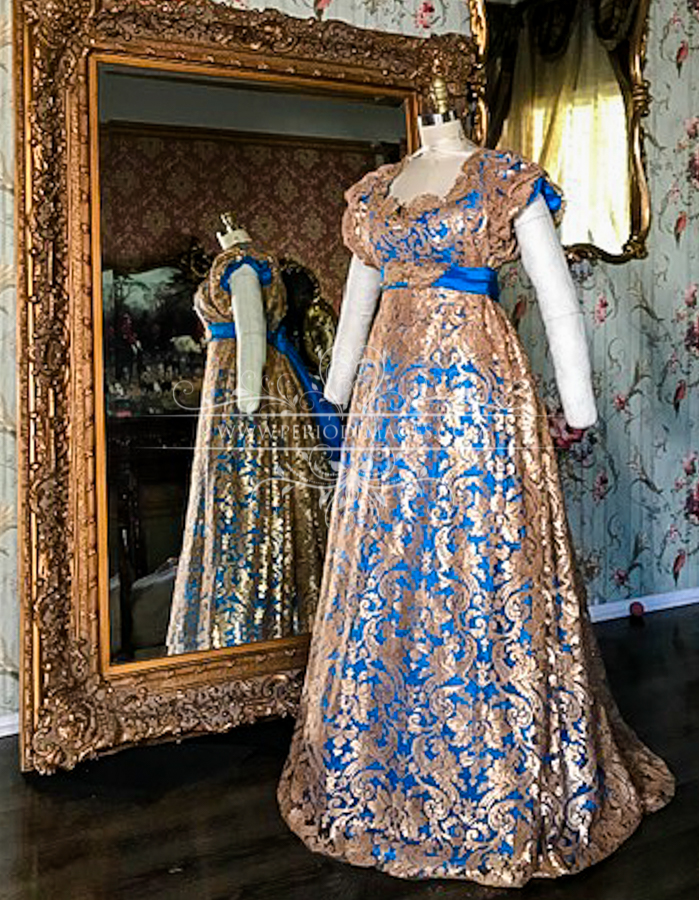 Image 1 of Lady Amaryllis Regency Gown
