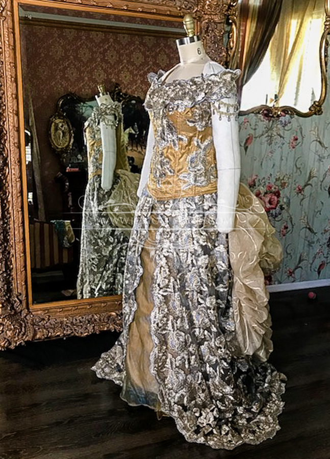 Image 1 of Lady Gwyneth Victorian Gown