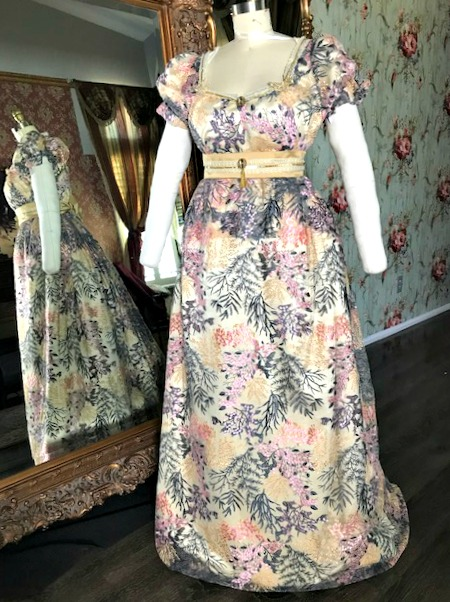 Image 1 of Lady Georgiana Regency Gown