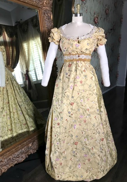 Image 1 of Lady Arabella Regency Gown
