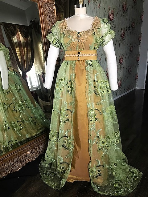 Image 0 of Lady Gisela Regency Gown (reserved for KLV)