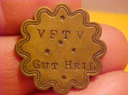 Thumbnail of (Valley Falls, Kansas) V F T V GUT HEIL Token KS