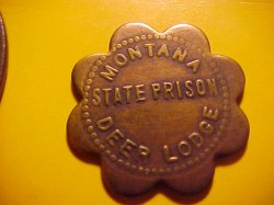 Thumbnail of Deer Lodge, Montan MONTANA STATE PRISON 10 Token