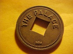 Thumbnail of (Bend, Oregon) THE PALACE 5c Token