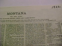 Thumbnail of 1922 MONTANA BRADSTREET STATE BUSINESS DIRECTORY