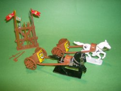 Ancient Style Plastic Chariots Set No. 43