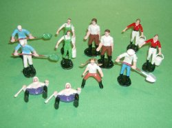 Farmers Painted Plastic Figures Set