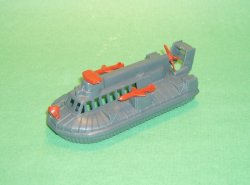 Modern Marines Military Grey Plastic Hovercraft