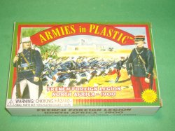 AIP 1/32nd Plastic French Foreign Legion Soldiers Set 5418