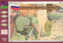Orion 1/72nd Scale Modern Russian Federals Plastic figures Set