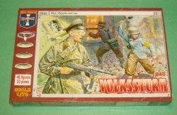 Orion 1/72nd Scale WWII German Volksstrum Figures Set