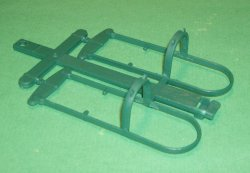 MPC Recast Western Green Double Wagon Hitch