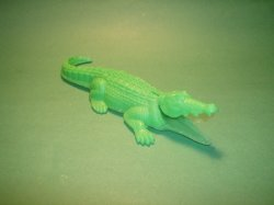 Marx Recast Pirates Playset Large Plastic Alligator