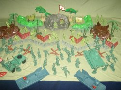 TSD BATTLE OF GUADALCANAL WWII Limited Edition Playset