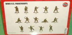 '.Airfix WWII U.S. Paratroopers.'