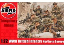 Thumbnail of Airfix 1/72nd Scale British WWII Infantry Plastic Soldiers Set (new tool)