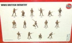 '.Airfix WWII British Infantry.'