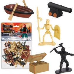 Battling Pirates And Skeletons Figures Set