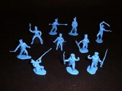 CTS Classic Toy Soldiers 1/32nd Scale Plastic Alamo Mexican Infantry Set 103