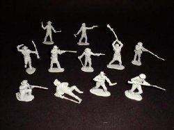 TSSD Alamo Mexican Helmeted Cavalry Lancers Soldiers Set 26