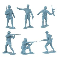 CTS Marx 1/32nd Scale World War II Plastic French Soldiers Set 145
