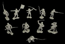 CTS Marx Recast 22 Figure American Civil War Confederate Soldiers Set