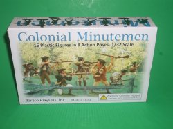 Barzso Playsets American Revolution Colonial Minutemen Soldiers Set