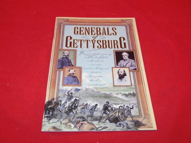 Generals Of Gettysburg Book
