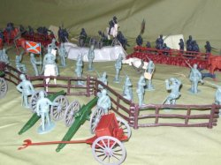 '.Pickett's Charge Playset.'