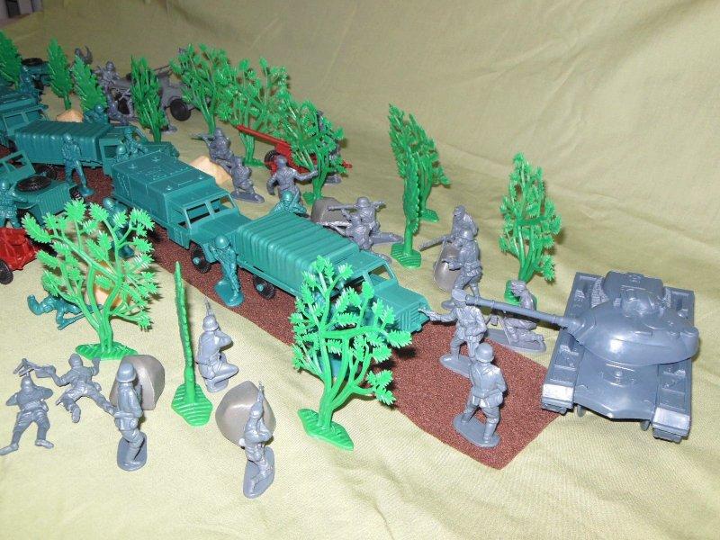 German Tank Blocks The Express!