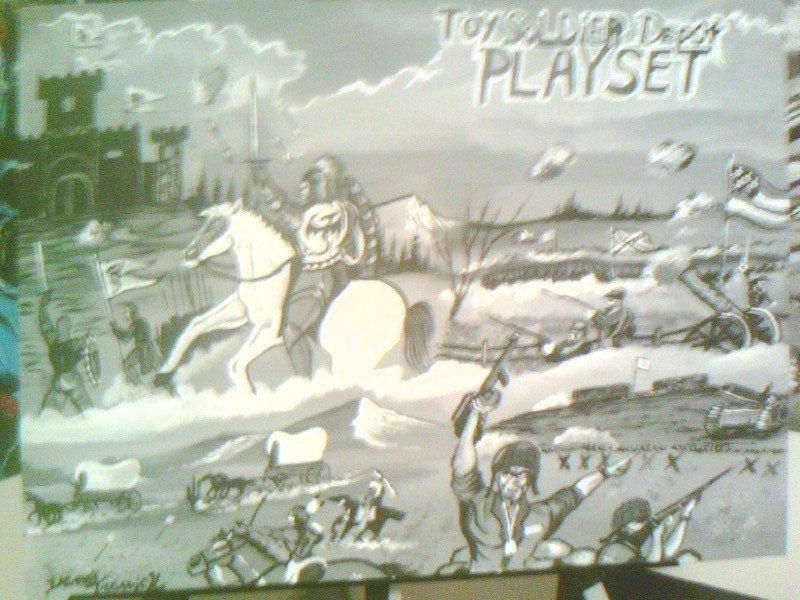 Playset Box Artwork