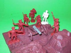 '.Rev War Redoubt Set.'