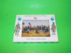 A Call To Arms 1/32nd Scale ACW Union Iron Brigade Plastic Soldiers Set 18