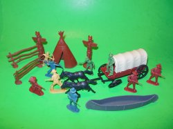 TSD Fort Bravo Western Adventure Playset Accessory Set