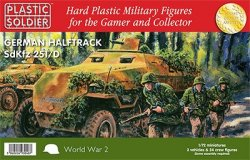 Plastic Soldier Co. 1/72 WWII German Panzer IV Tank 7206