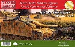 Plastic Soldier Co. 1/72 WWII German StuG III Ausf G w/Assault Gun