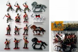 Napoleonic British Soldiers & Cavalry Figures Set