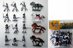 Napoleonic French Soldiers & Cavalry Figures Set