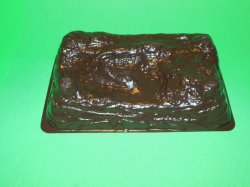 Brown Plastic Vacuform Hill Terrain Piece Style A