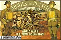 Armies in Plastic Soldiers WWI US Army Doughboys 5401
