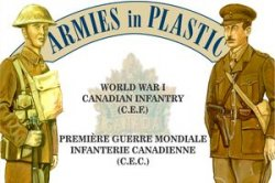 Armies In Plastic WWI  Canadian Expeditionary Force Infantry 5408