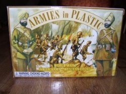 Armies In Plastic Indian Army WWI - Western Front 5444